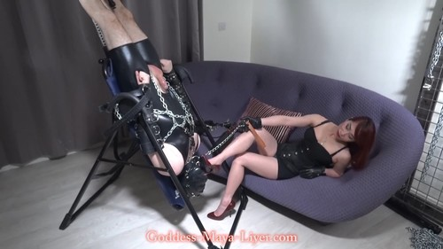 Maya Liyer - Chained and Forced to Worship