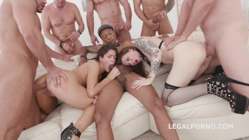 LegalPorno.com - Victoria Voxxx, Monika Wild -  This ain't vanilla Porn 2 Victoria Voxxx Vs Monika Wild Balls deep Anal, Squirt, DAP, Gapes, Feet Games, Cumshot GIO744
