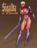 Slutwriter Sigalda The Princess Knight