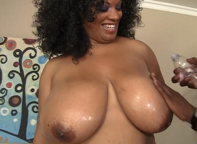 Big Black Titty Fuck