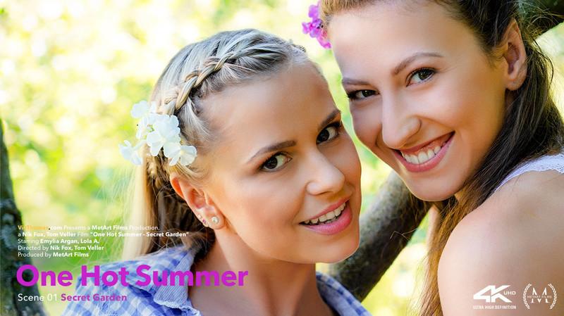 VivThomas – Lola A & Emylia Argan (One Hot Summer Episode 1 – Secret Garden)