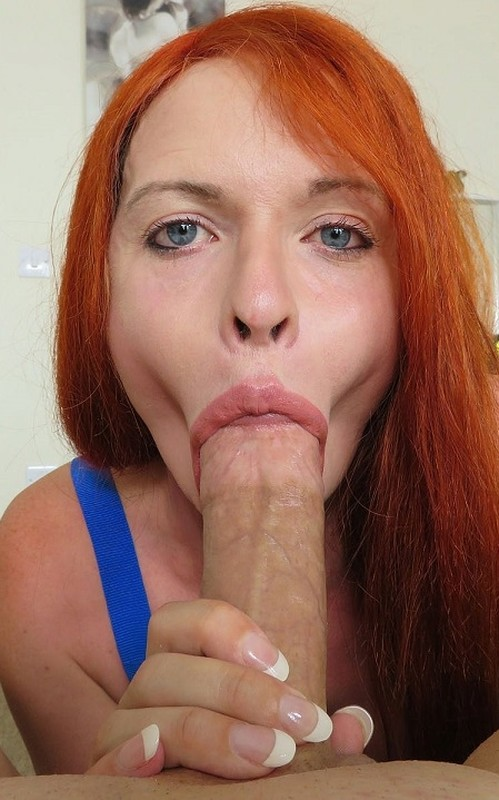 Liberty Harkness Super Busty Redhead Gives Great Head (12 September 2018)