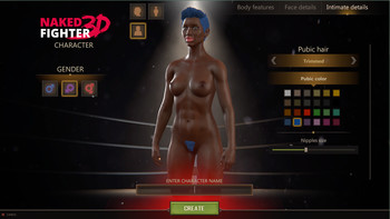 NAKED FIGHTER 3D DEMO VERSION 0.03 BY SAM