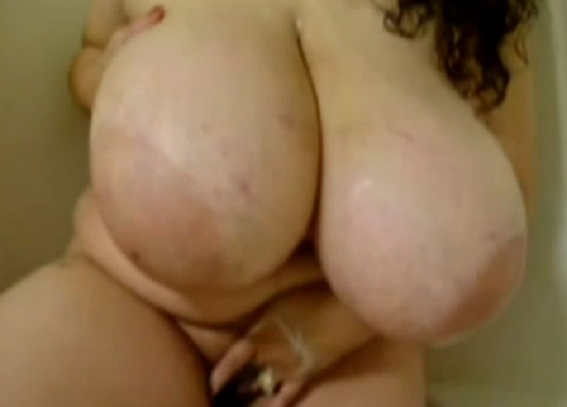 Mexican BBW Play Huge Boobs