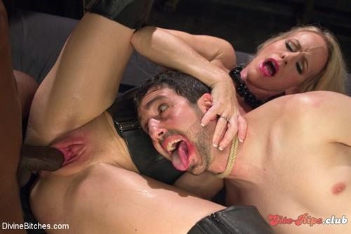 Mrs. S cuckolds her slave with big black alpha cock! - Simone Sonay - kink.com