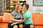 Tammy J - Busty Redhead Mature Gets Fucked