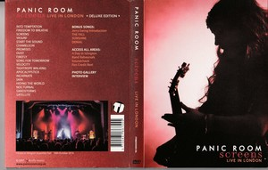 Panic Room - Screens - Live in London (2017) [DVD9+DVD5]