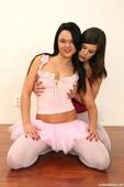 Caprice & Claudia Lesbian Ballerinas l6r32w4srk.jpg
