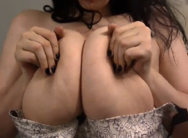 Huge Tits In Tight Brassiere
