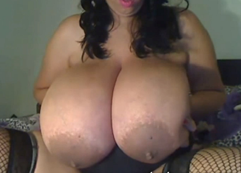 Latina Amazing Huge Breasts