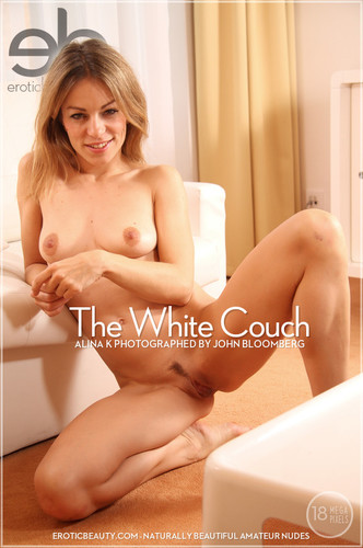 EroticBeauty Alina K The White Couch