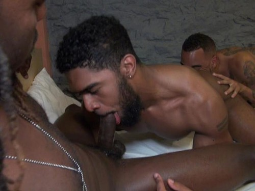 BlackBreeders – Dorm Dick Down (Rude Rasta, XL & Red Virgo) Bareback