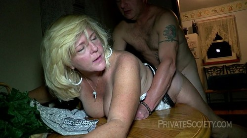 Private Society - Mrs. Baldwin Liquored Up And Ready To Fuck (720p)