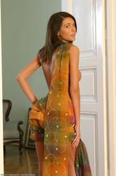 Claudia O - Sunset sarong