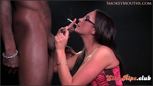 Emma Butt interracial smoking sex  - Emma Butt - hardglam.com
