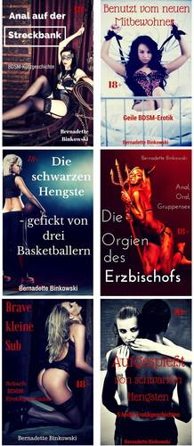 Bernadette Binkowski 30 Erotik eBooks (BDSM, Interracial, hard) Cover