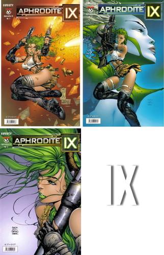 Aphrodite IX - Teil 1-3 (german) Cover