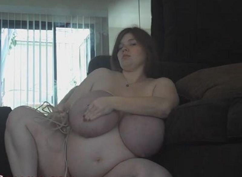 Breast Bondage Pregnant Nude