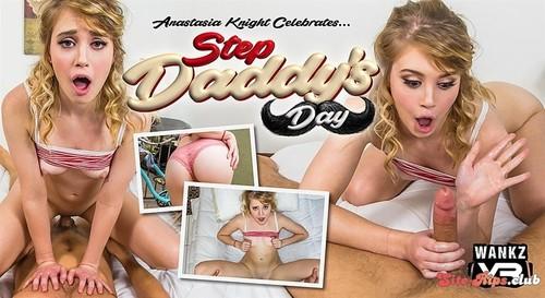 Step Daddy�s Day - Anastasia Knight - wankzvr.com