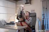 Karol L Gets Fucked In The Office