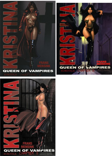 Kristina, Queen of Vampires 1-3 (english) Cover