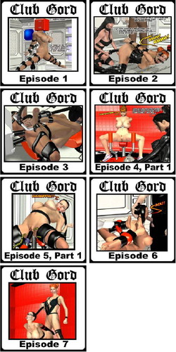 Club Gord Episode 1-7 (BDSM) Cover