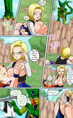 Pink Pawg - Android 18 meets Krillin - Dragon ball z XXX comic