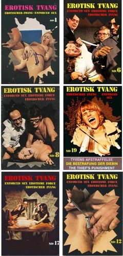 Erotisk Tvang 1-25 (Erotischer Zwang) hard BDSM (ger,eng,ned) Cover