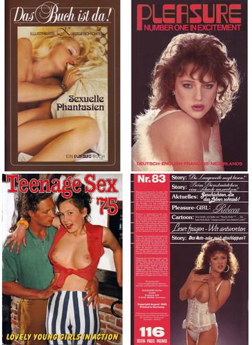38 Vintage Hardcore Magazine (Pleasure ,Teenage Sex, etc.) Cover