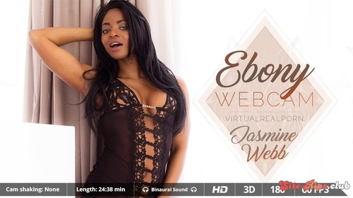 Ebony webcam - Jasmine Webb - virtualrealporn.com