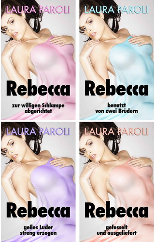 Laura Paroli - Rebecca 1-4 (Sado-Maso) Cover