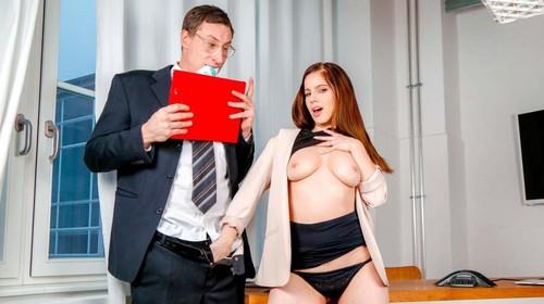 Hardcore Sex in Kinky Office Affair Fantasy - Vanda Angel (BumsBuero.com-2018)
