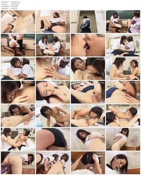 SAK-8477 Lolita Lesbians Yu & Mika's Extracurricular Activities - Yu Aine, Youthful, Schoolgirl, Mika Sonohara, Masturbation, Lesbian, Cunnilingus