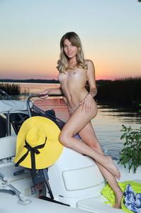 Lola Krit In Sunset Boat - October 08, 2018 36rpik5uba.jpg