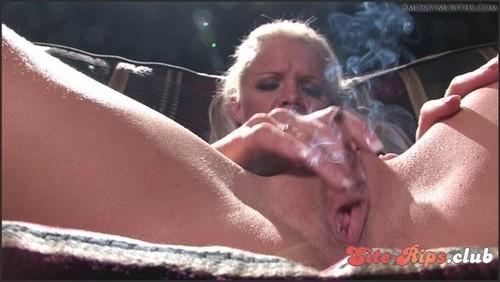 Frankie smoking masturbation  - Frankie  - hardglam.com