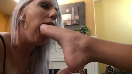 Holiday Takes it Off while Hali Licks