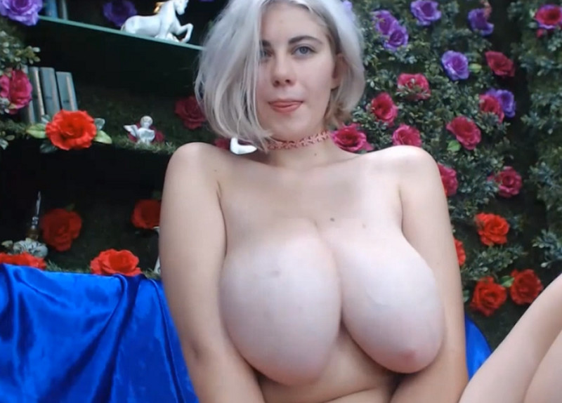 Busty Single With Large Boobies