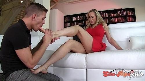 Mean Milf Foot Slave - Brandi Love - femdomempire.com