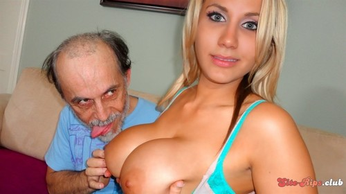 Dirty Old Man Lucks Out - Alanah Rae - pornprosnetwork.com