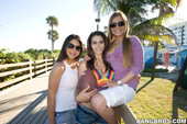 Candi Coxxx & Izzy Bella Blu & Mercedes Lynn - Lesbian Beach Day 66rs8a2jo1.jpg