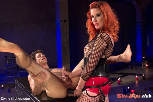 The Maitresse Milks Virgin Prostate and Punishes Dripping Cock! - Maitresse Madeline Marlowe  - kink.com