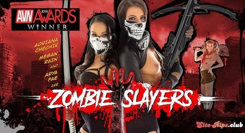 Zombie Slayers - Adriana Chechik - wankzvr.com