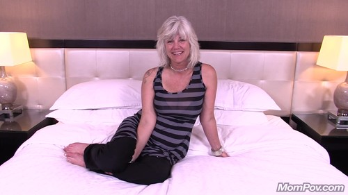 Mompov.com -  Martha 45 year old MILF does first porn