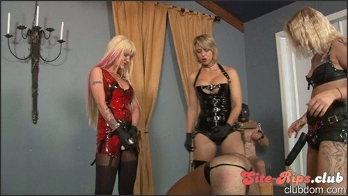3 Cocks Brutally Fuck One Ass - Goddess Brianna - clubdom.com