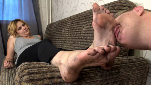 Elsa - dirty foot worship Full HD