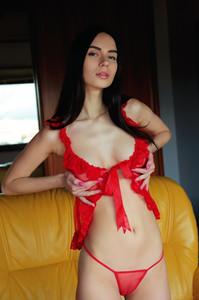 Dita V. In Red Passion - October 25, 2018p6sa44i3i0.jpg