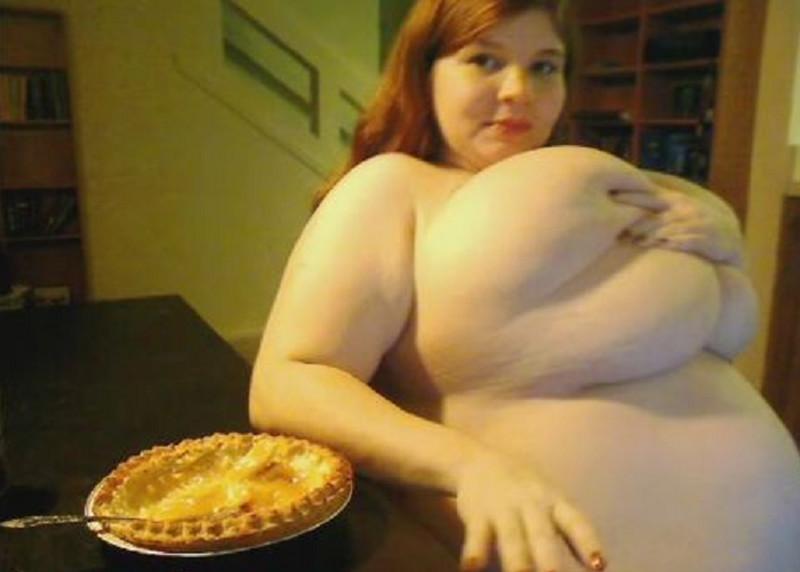 Pregnant Pie Eating