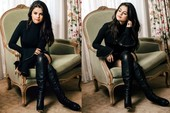 Selena Gomez Con Botas Altas