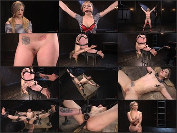 Sexy Blonde Whore is Brutalized in Grueling Bondage