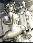 Bdsm artwork from Andys Dames